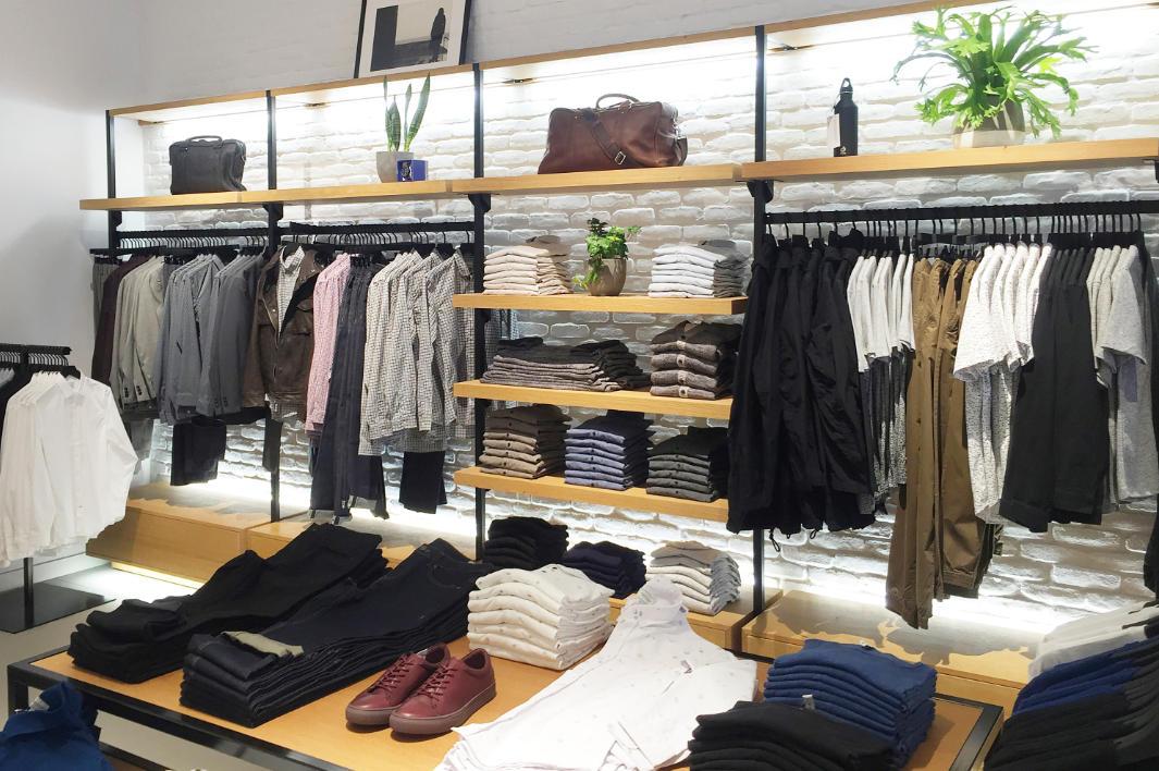 fashion retail fixtures design