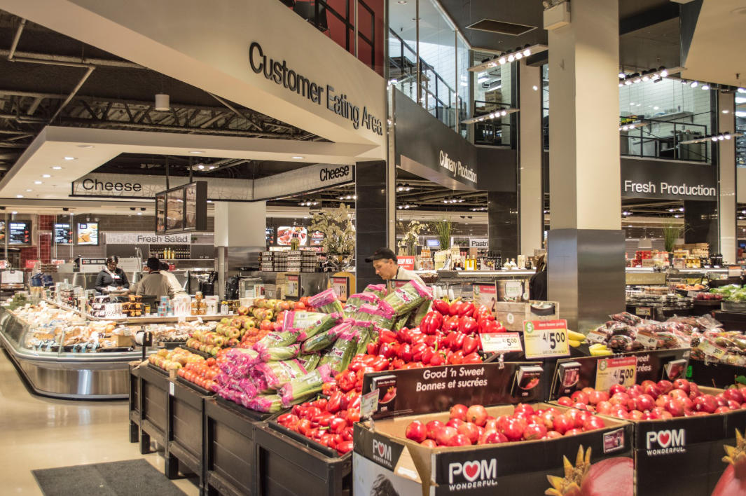 Grocery retail design