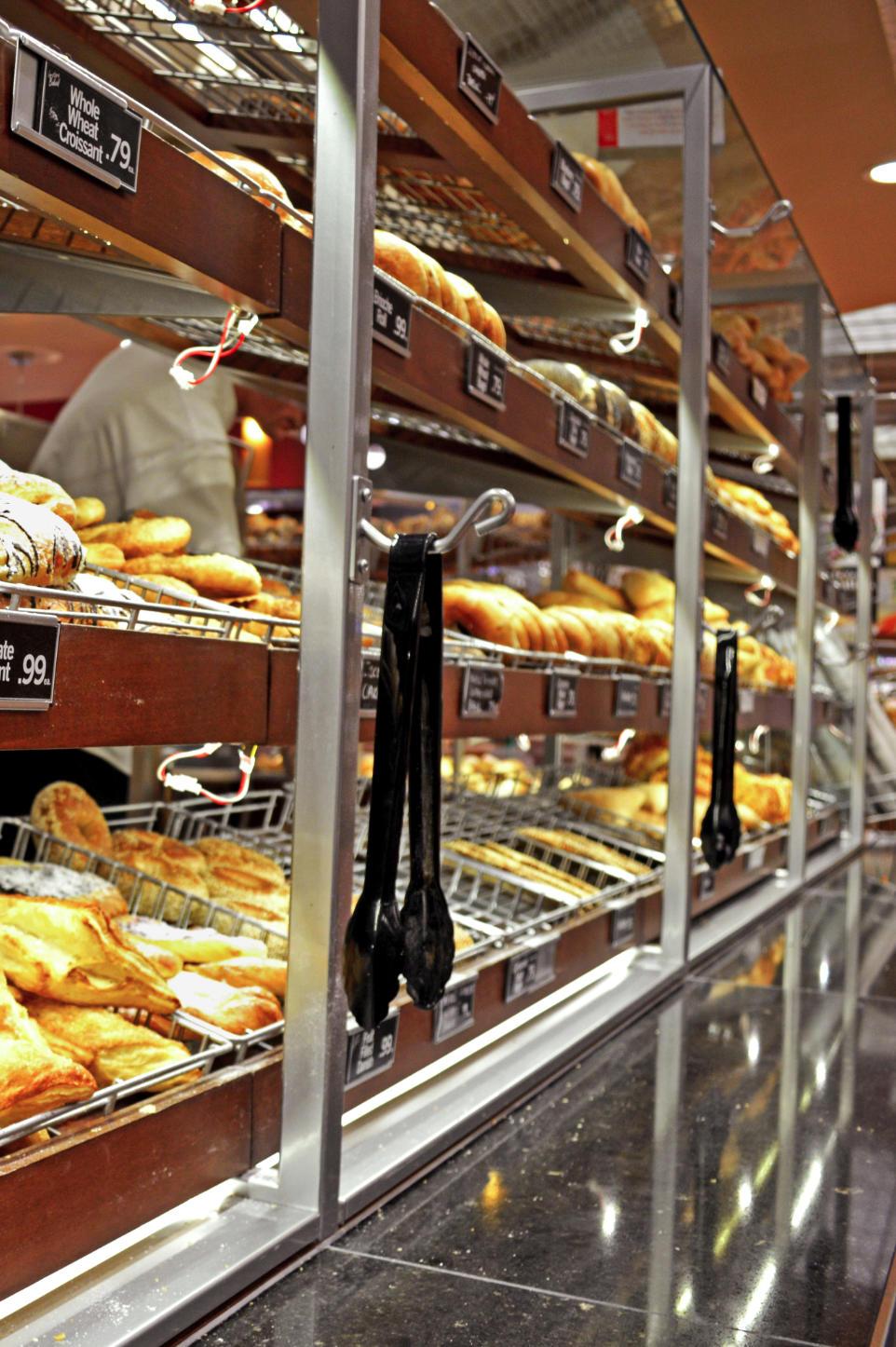 Bakery store fixtures
