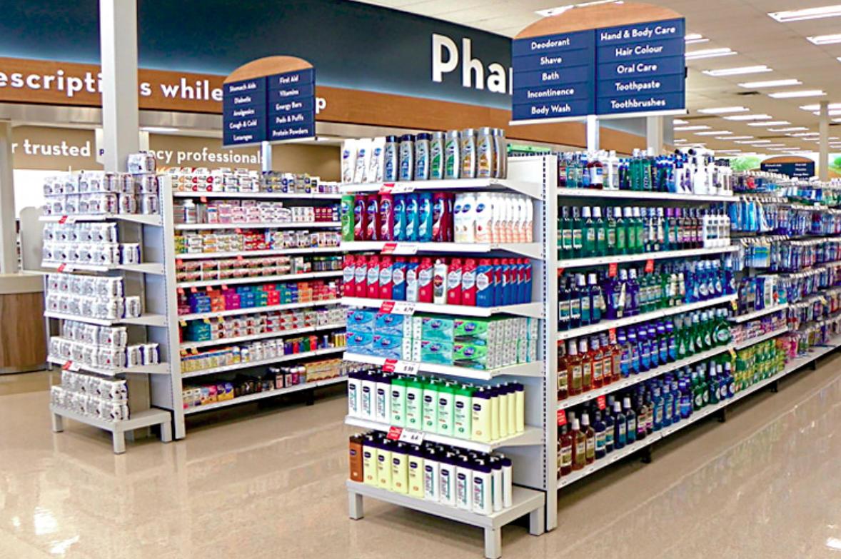 Pharmacy retail design
