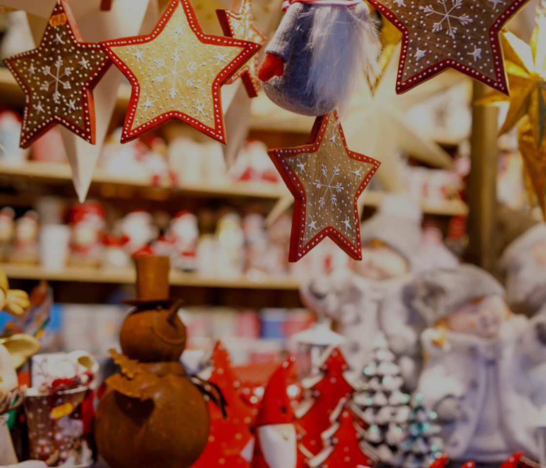 Christmas retail decorations