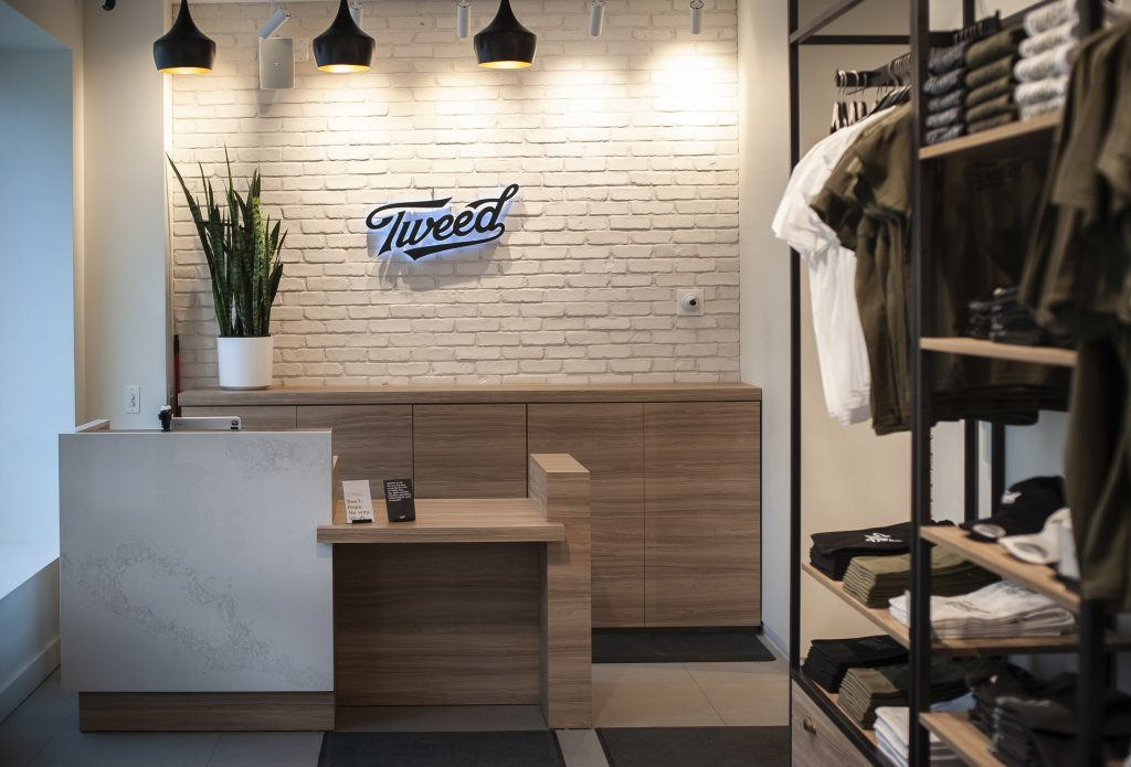 Tweed retail store