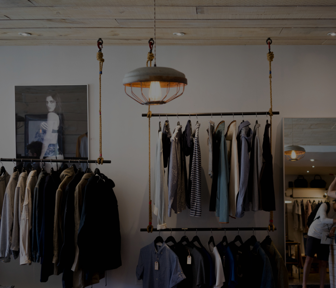 Clothing store in a boutique bring a competitive edge back to flagship stores
