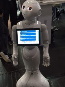 Pepper and Intuitive Robots